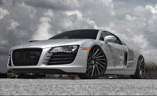 Audi R8 on Wraith BG Finish