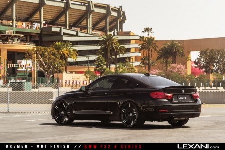BMW F32 4 Series on Lexani Wheels