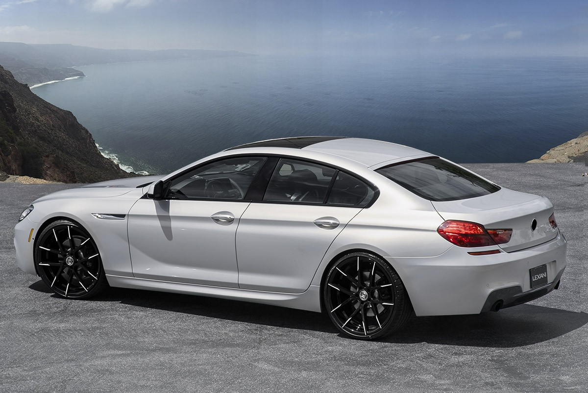 BMW 640i on Stuttgart