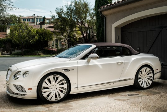 Bentley Continental GT on LZ-766 Custom Finish