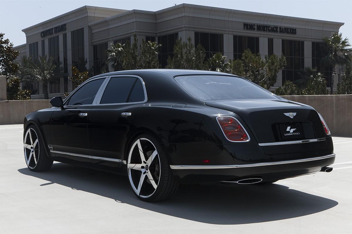 Bentley Mulsanne on 24
