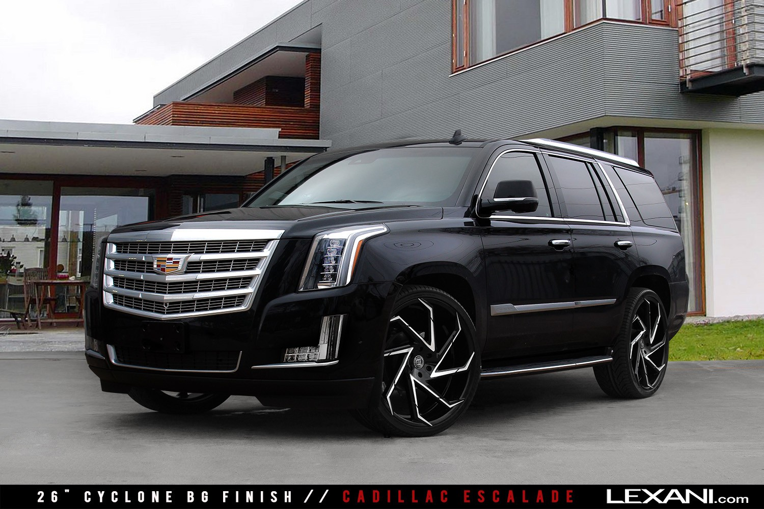Cadillac Escalade on Cyclone