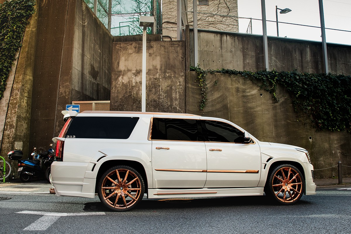 Cadillac Escalade on CSS-15 Rose Gold Finish