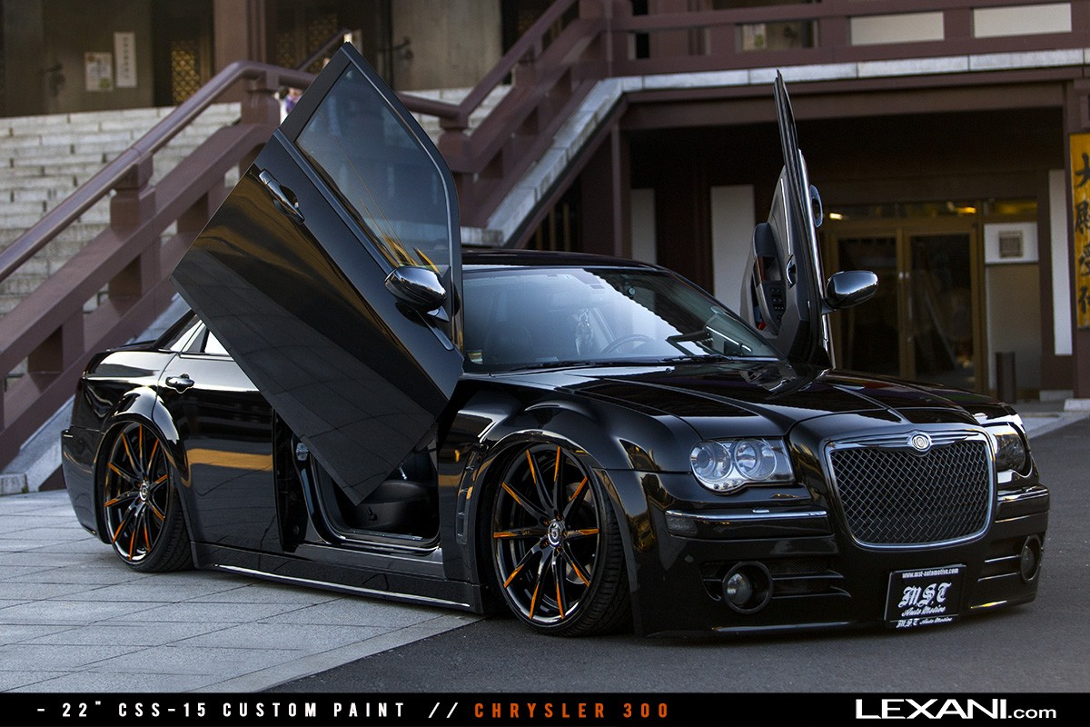 Chrysler 300 on CSS-15 Custom Finish