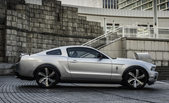Mustang on Zagato - BG Finish