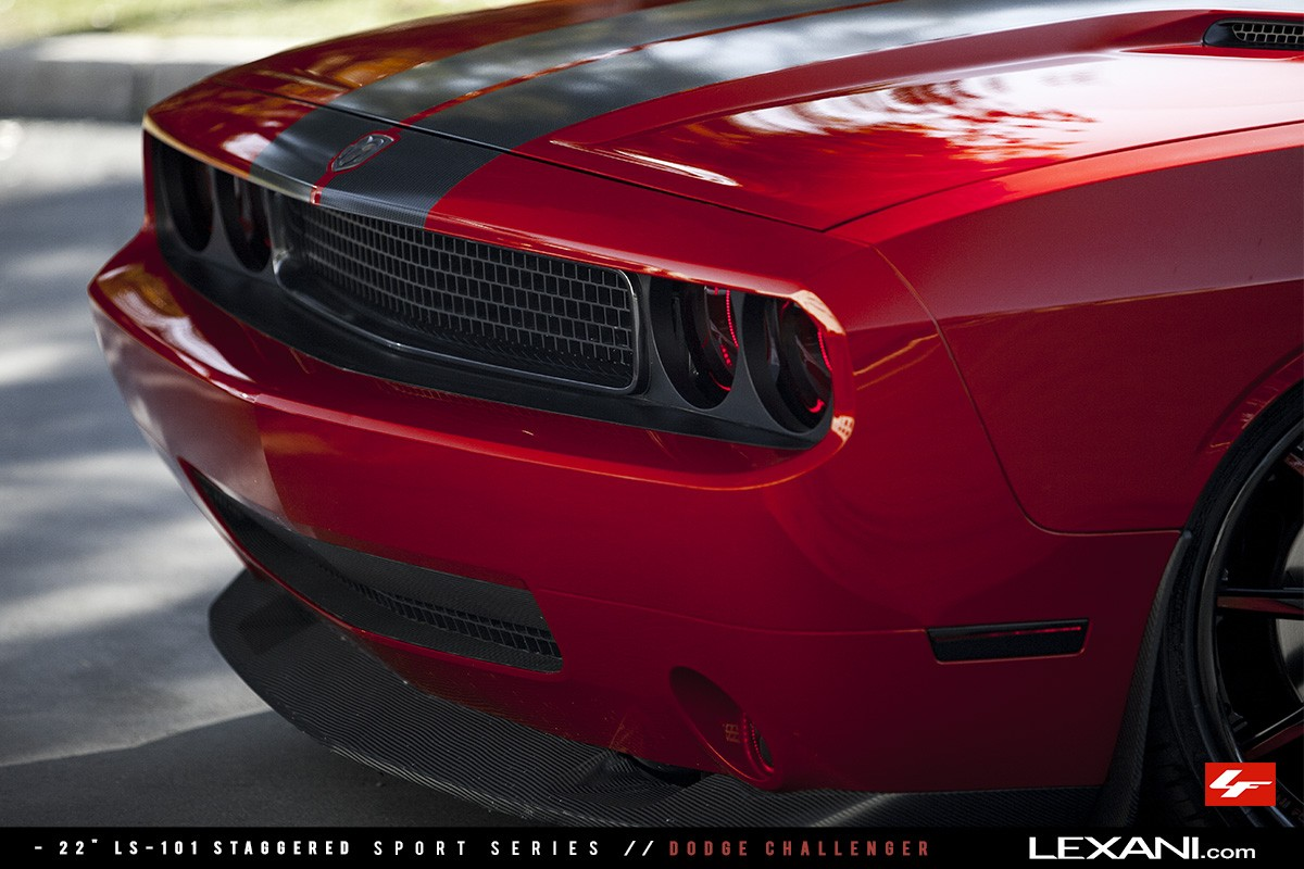 Dodge Challenger on LS-101