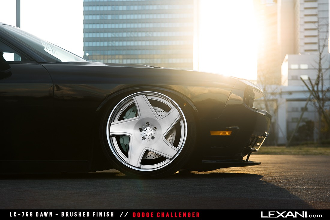 Dodge Challenger on LC-768 Dawn