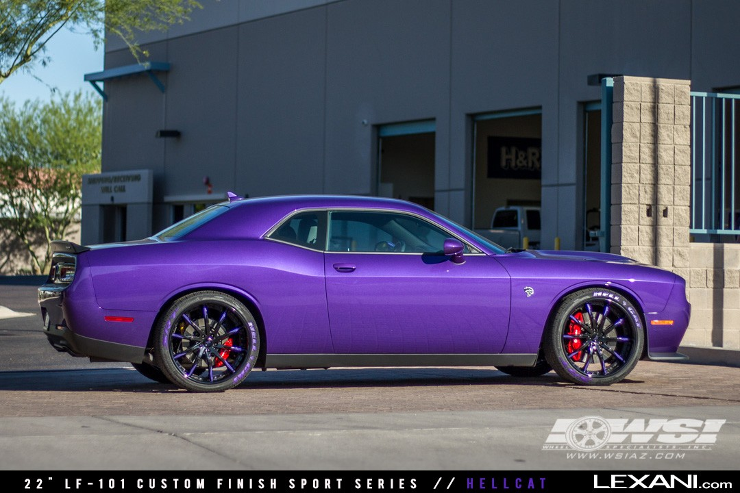 Dodge Hellcat on LF-101