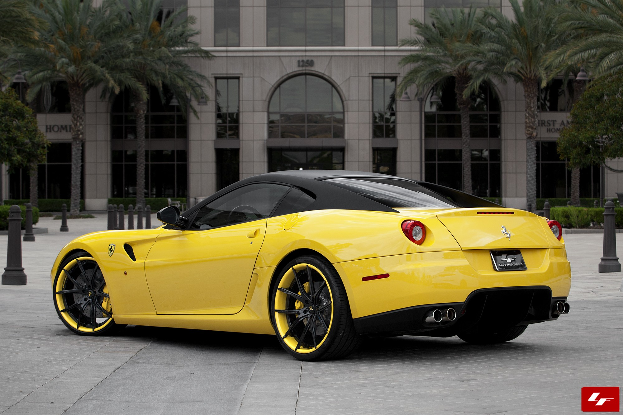 Ferrari 599 on LZ-102 Wheels - Custom Finish