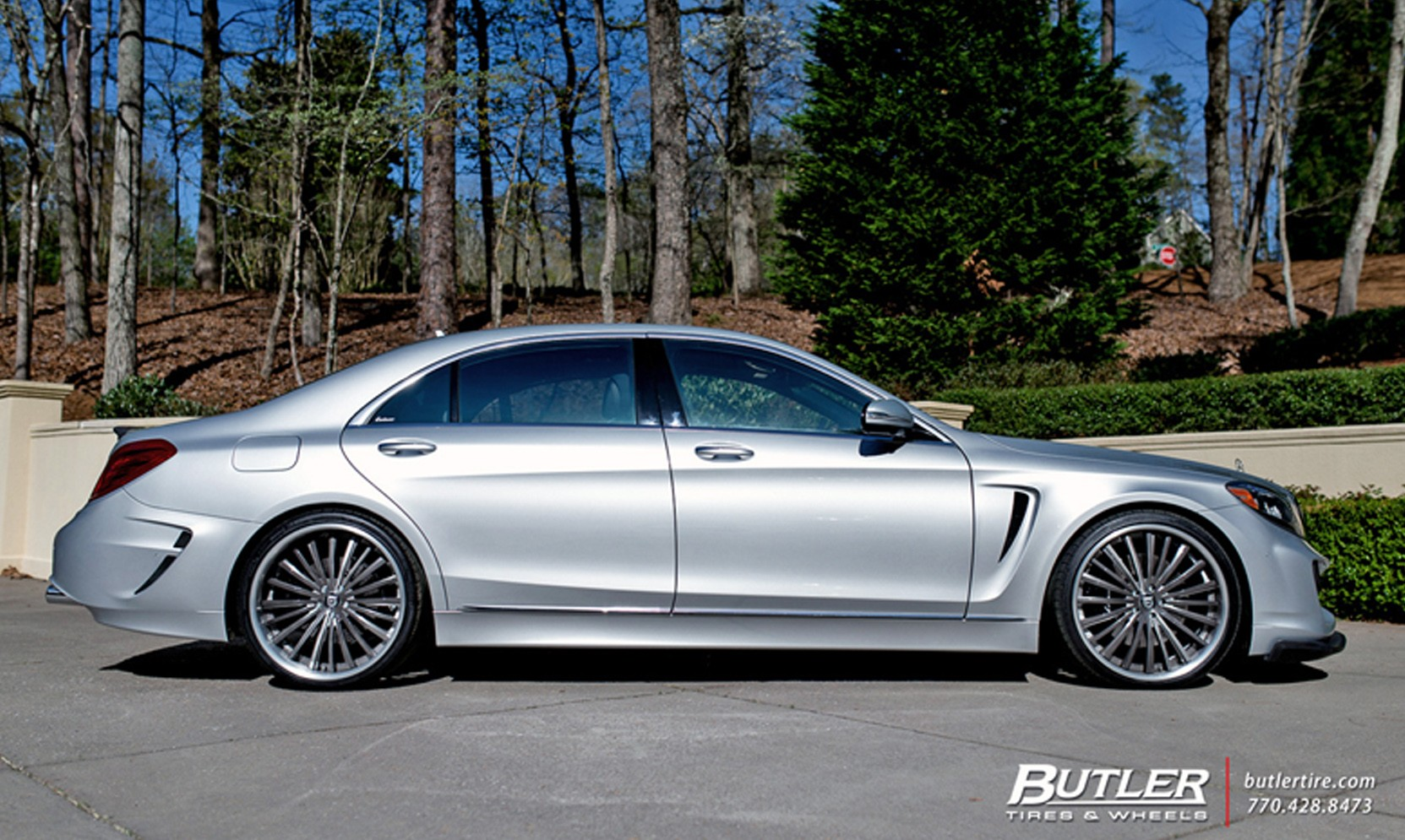 Custom LC-722 on Mercedes S550