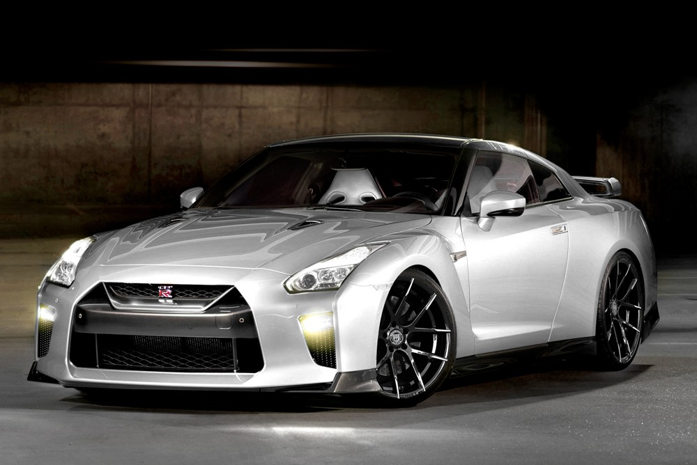 Nissan GTR on Stuttgart - MBT Finish