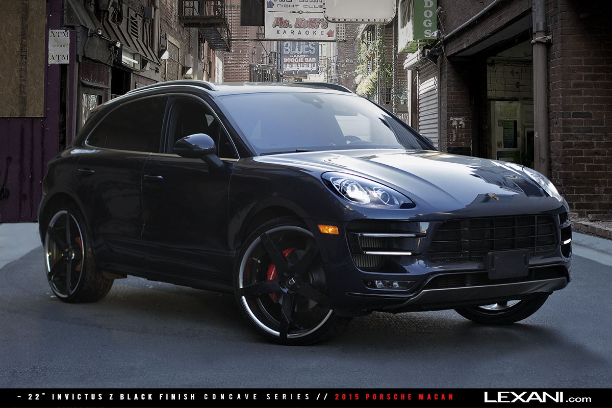 Porsche Macan on Invictus-Z