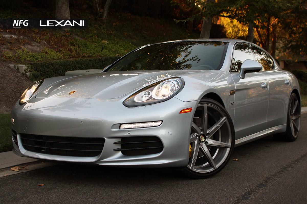 Porsche Panamera on CSS-7 Custom Finish