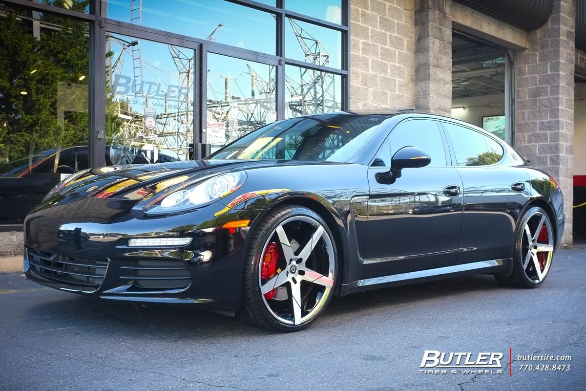 Porsche Panamera on Invictus-Z