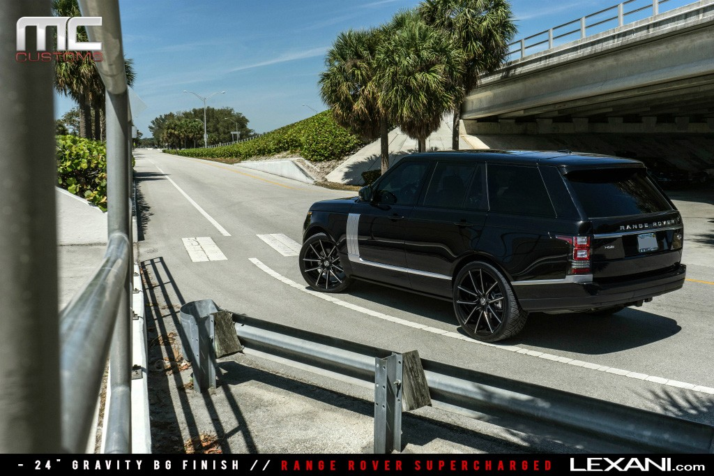 Range Rover Supercharged on 24