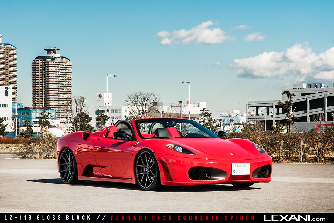 Ferrari F430 Scuderia Spider on LZ-118