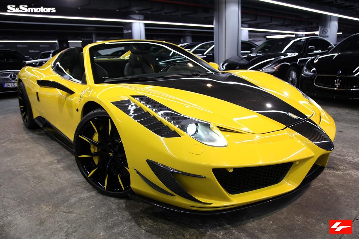 Ferrari Mansori Spider on LZ-101