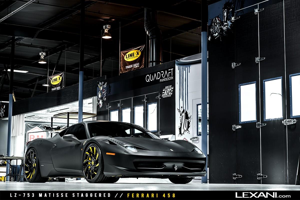 Ferrari 458 on LZ-753
