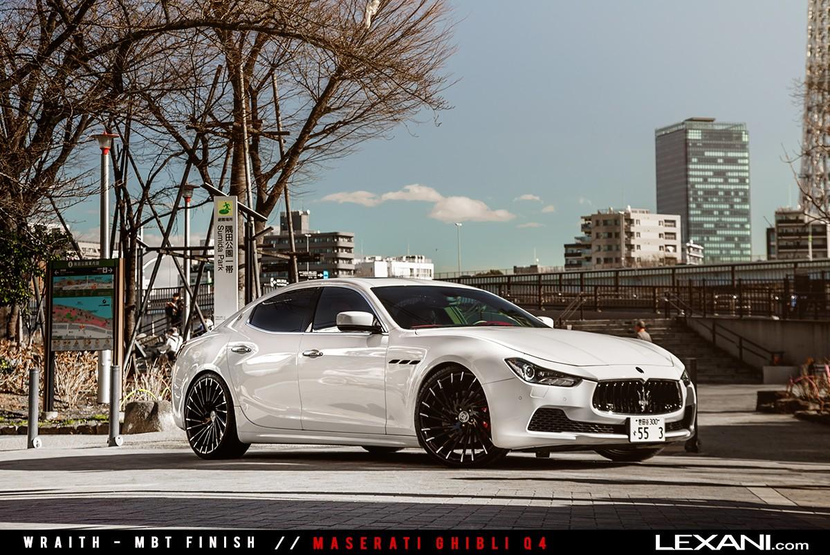 Maserati Ghibli on Wraith