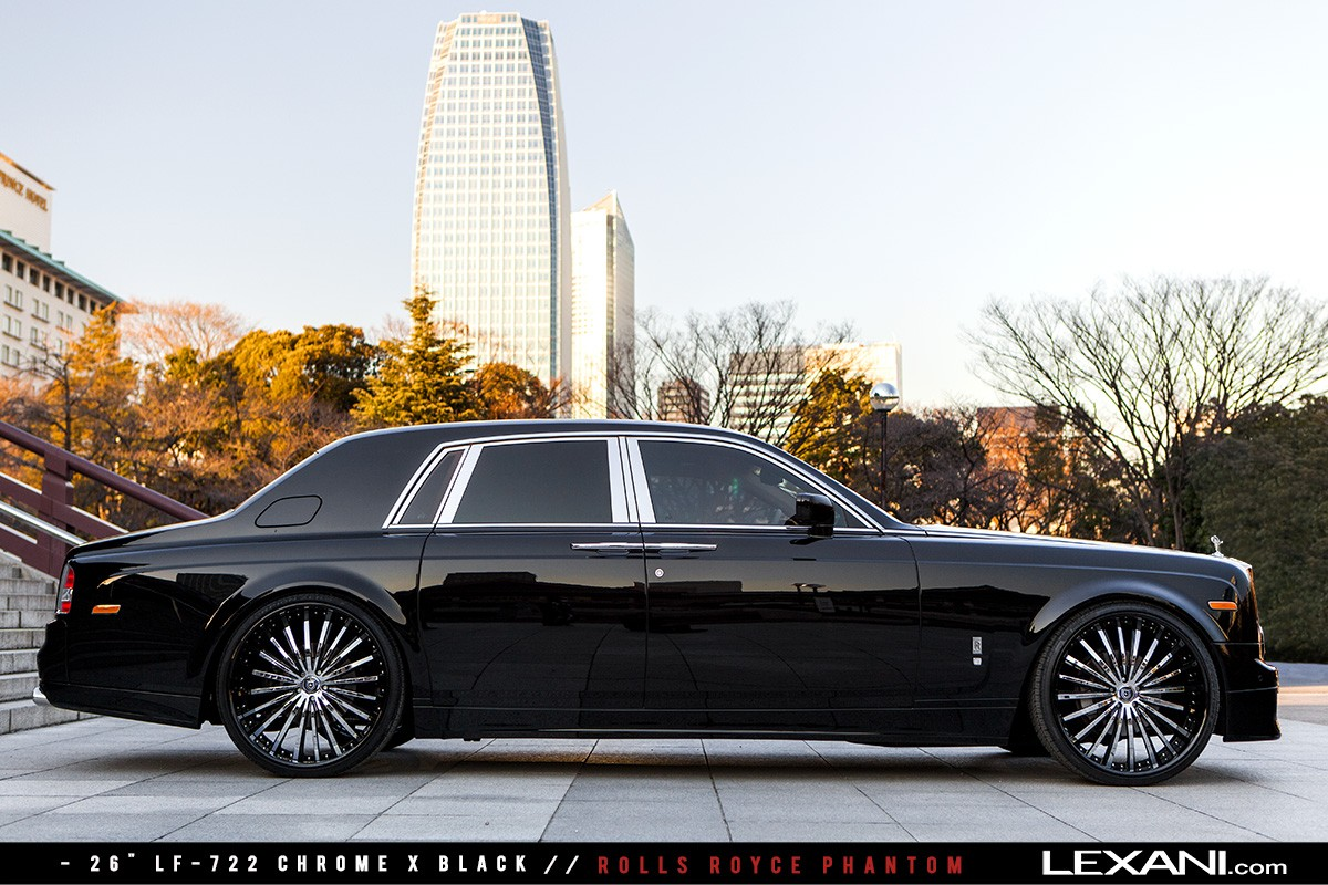 Rolls Royce Phantom on LF-722