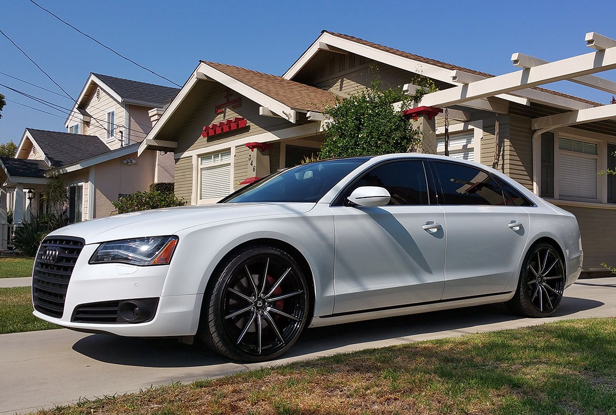 Audi A8 on CSS-10