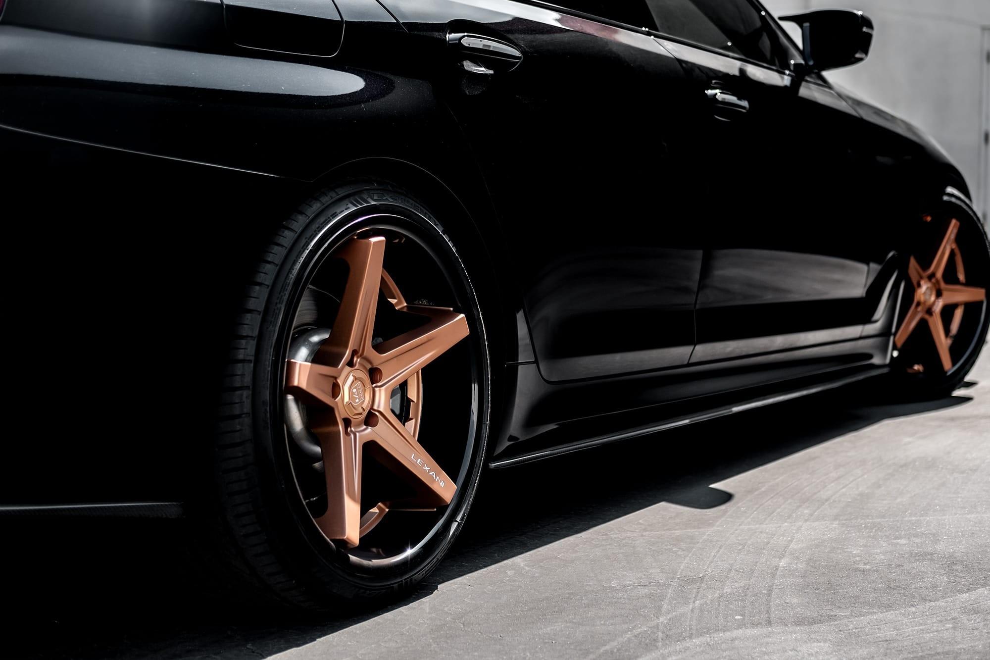 BMW e550 on Lexani Savage wheels
