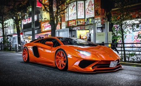 Custom Body Kit Lamborghini Aventador In AKIHABARA: LEXANI WHEELS (2019)