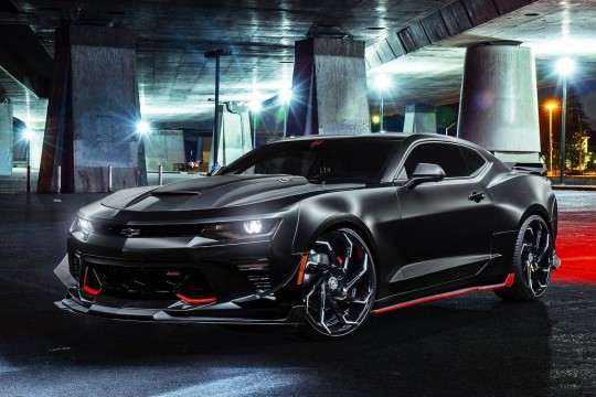 Chevy Camaro on Cyclone - MBT Finish