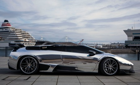 Chrome Lamborghini LP640 on Lexani Wheels