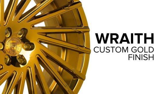 Wraith - Custom Gold Finish