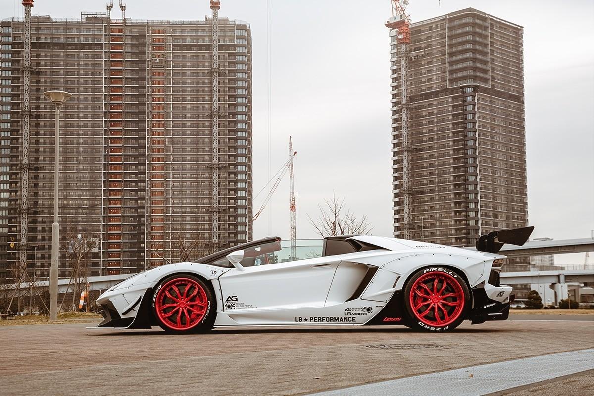 Lamborghini Aventador on LC-780