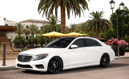 Mercedes S63 on Morocco FB Finish