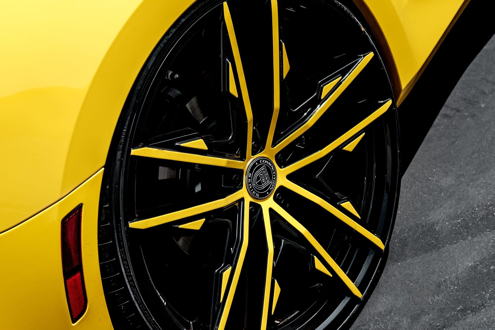 Chevy Camaro on Lexani Venom wheels