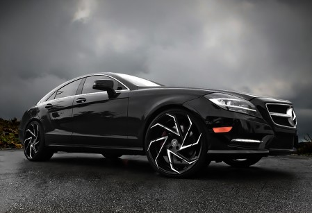 Mercedes CLS on Cyclone wheels