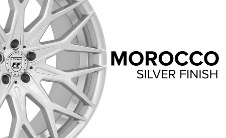 Morocco - Silver Finish