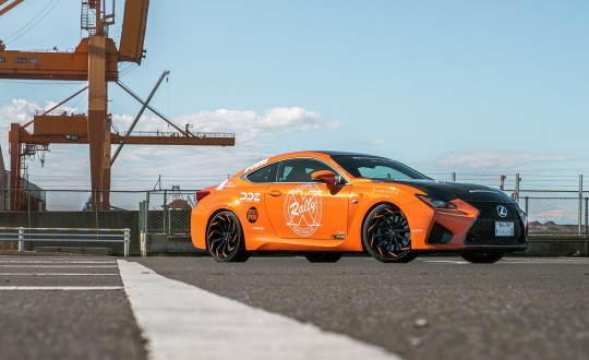 Lexus RCF on LZ-770