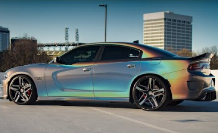3M Gloss Psychedelic Dodge Charger R/T