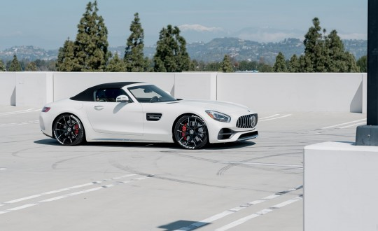 Mercedes GTC on Lexani Stuttgart wheels