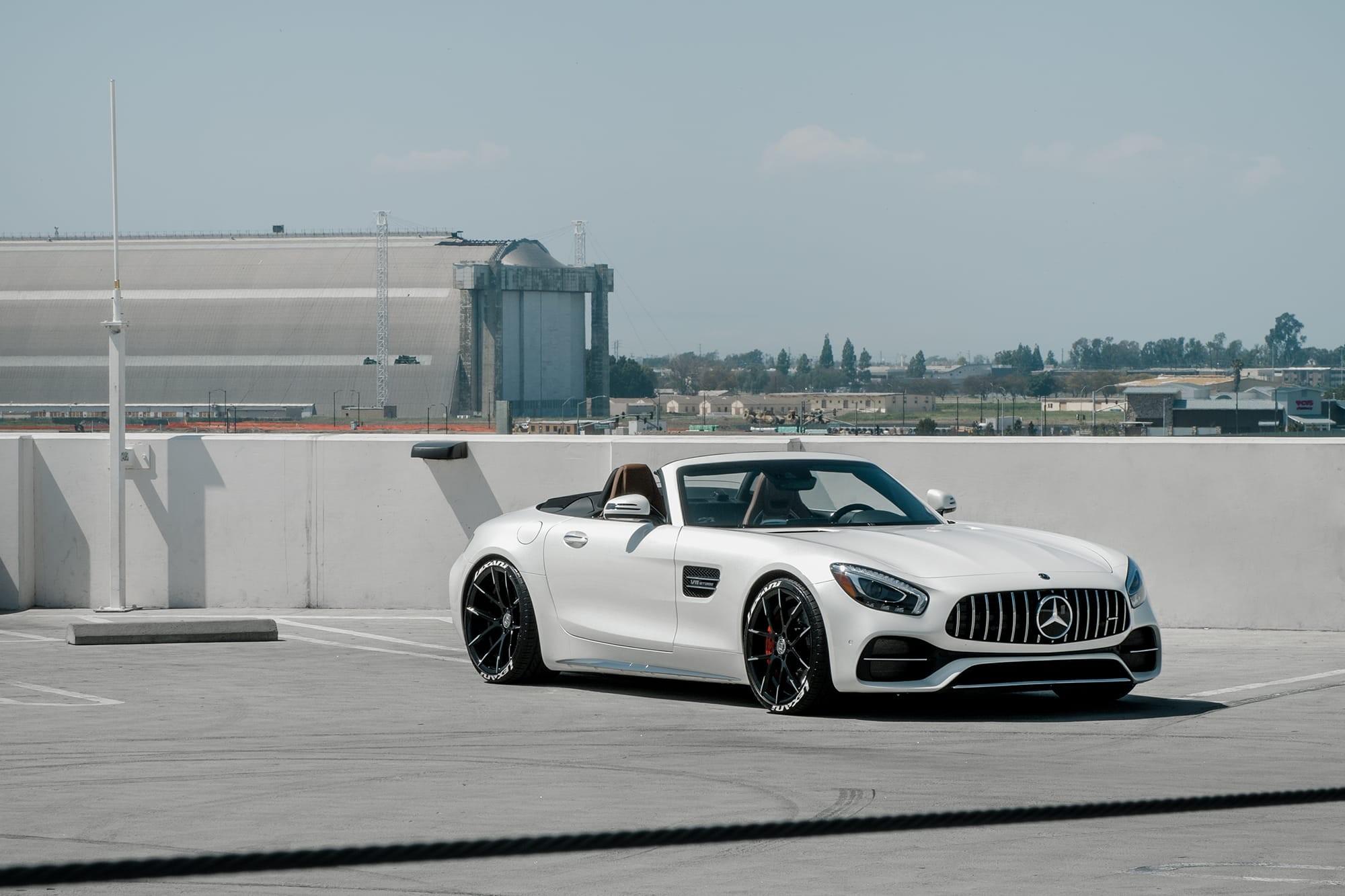 Mercedes GTC on Lexani Stuttgart wheels