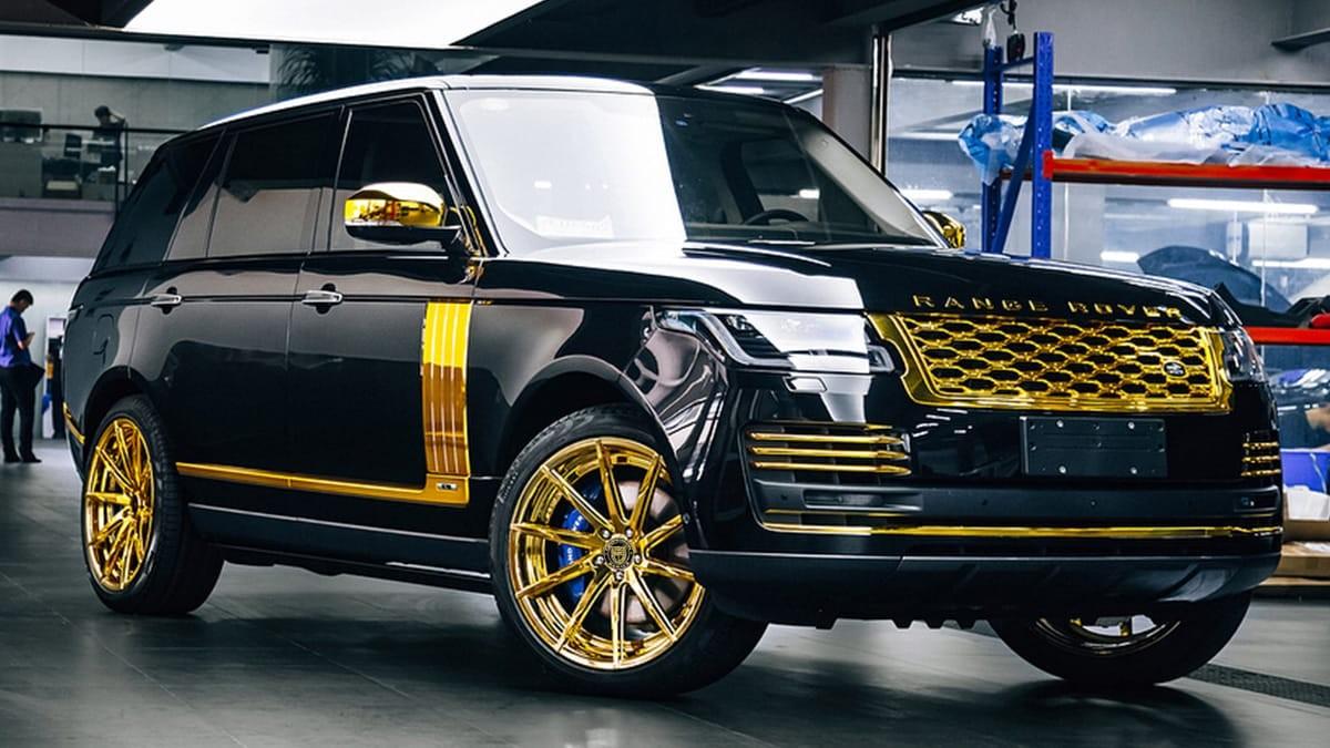 Range Rover on CSS-15