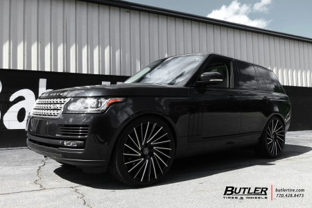 Black Rover on black and white Wraith wheels