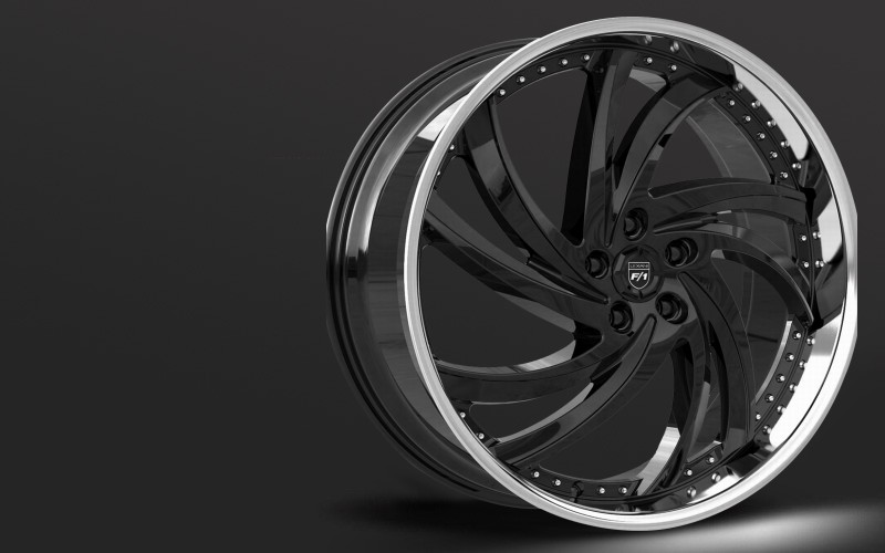 Lexani Stainless Sport series, Turbine wheels