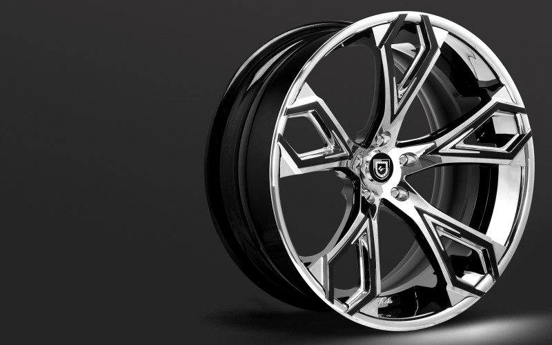 Lexani Forged Luxury series, Abstract wheels