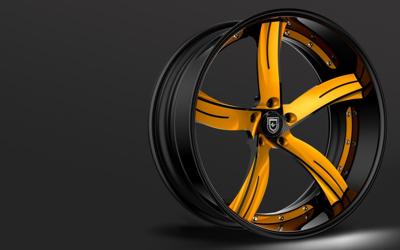 Lexani Forged Luxury series, LC-735 wheels