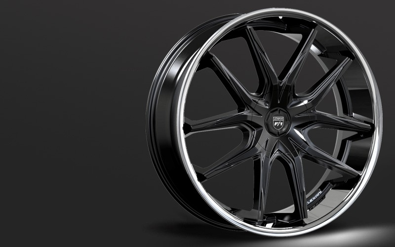 Lexani Stainless Sport series, R-Twelve 24/26 wheels