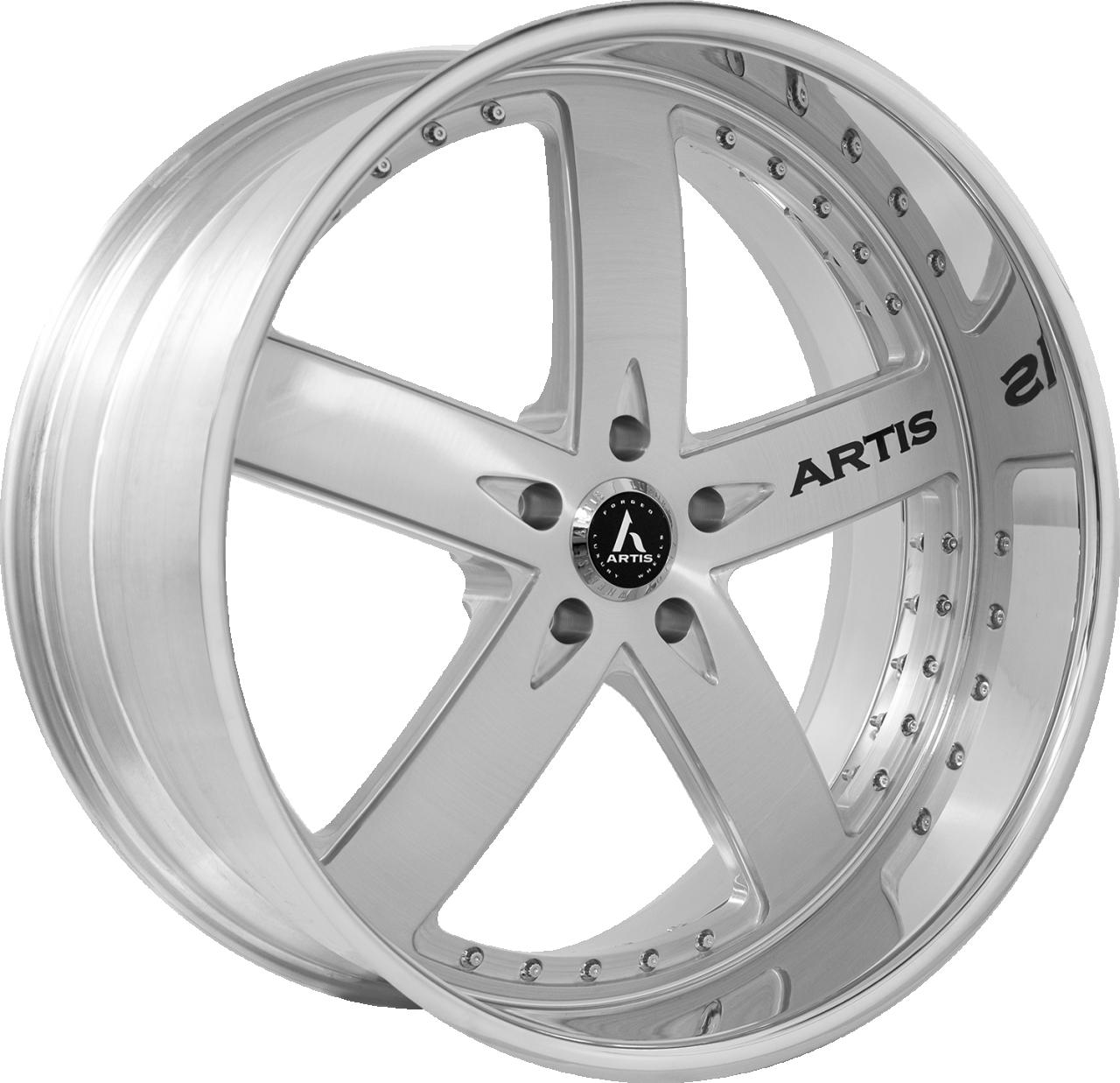 Artis Forged Booya-M wheel with Brushed finish