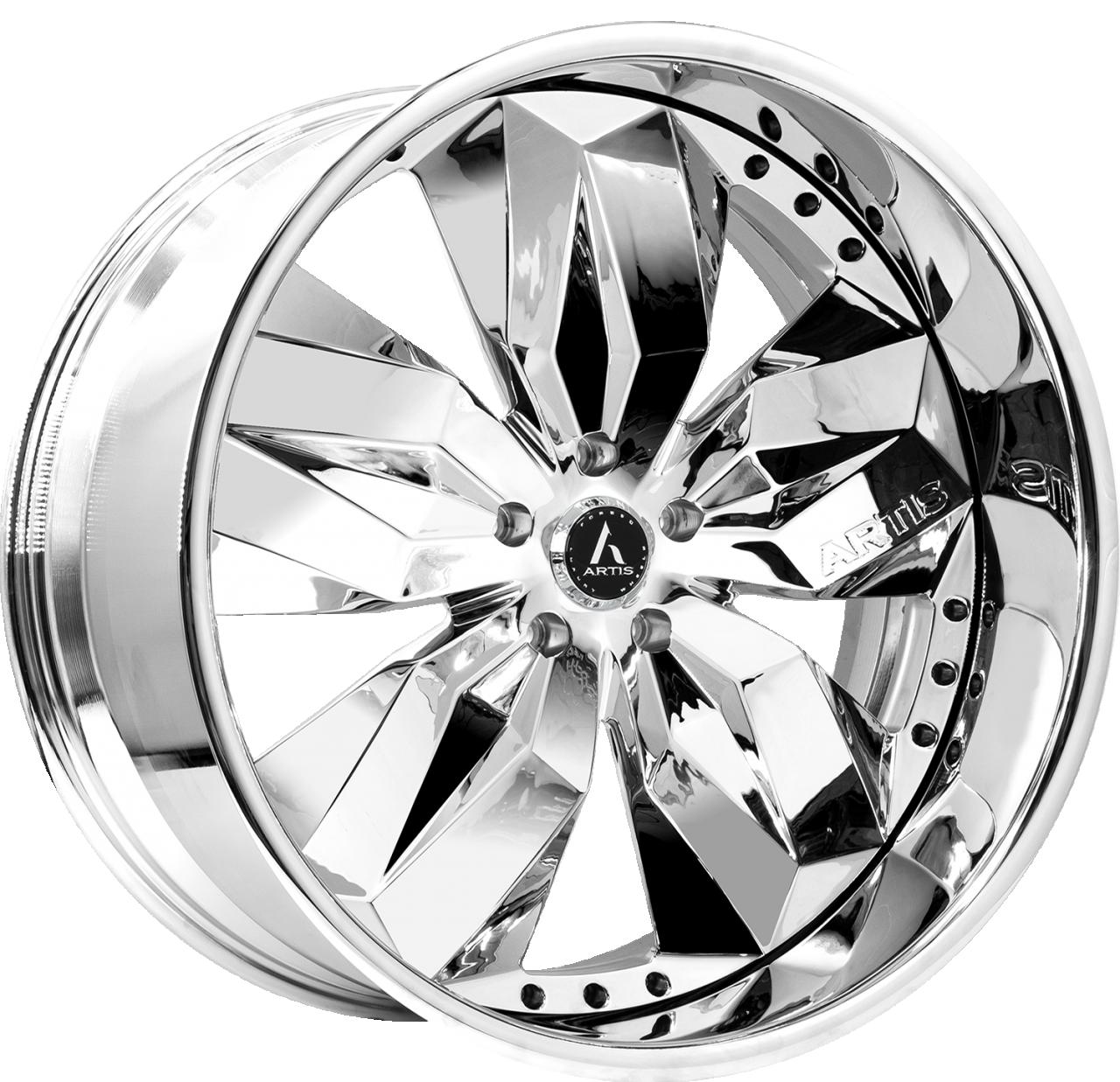 Artis Forged Krystal wheel with Chrome finish