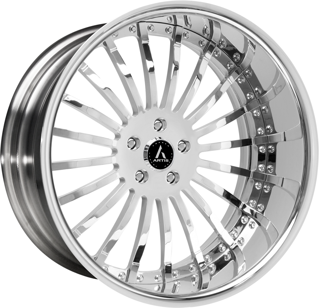 Artis Forged Coronado wheel with Chrome finish