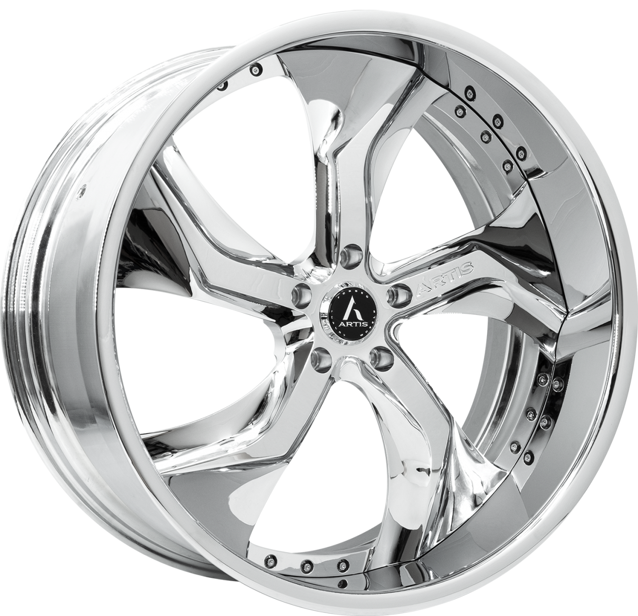 Artis Forged Bully wheel with Chrome finish