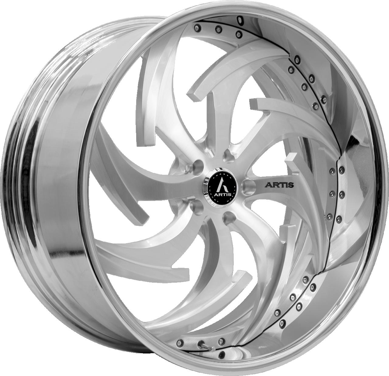 Artis Forged Dagger wheel with Brushed finish